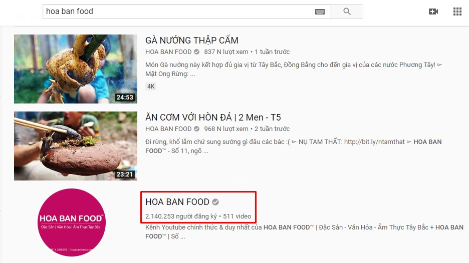 hoa ban food