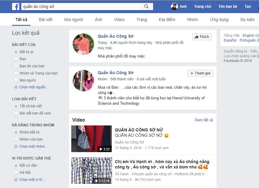SEO facebook top 1